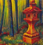 # 7 - Golden Forest Lantern